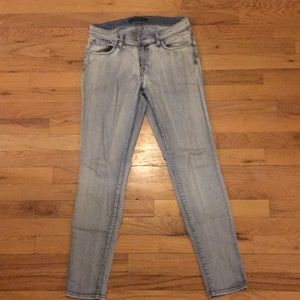 "J Brand mid rise skinny in ""afterlife"" wash"
